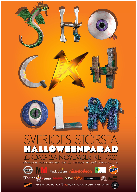 Shockholm Parade Poster