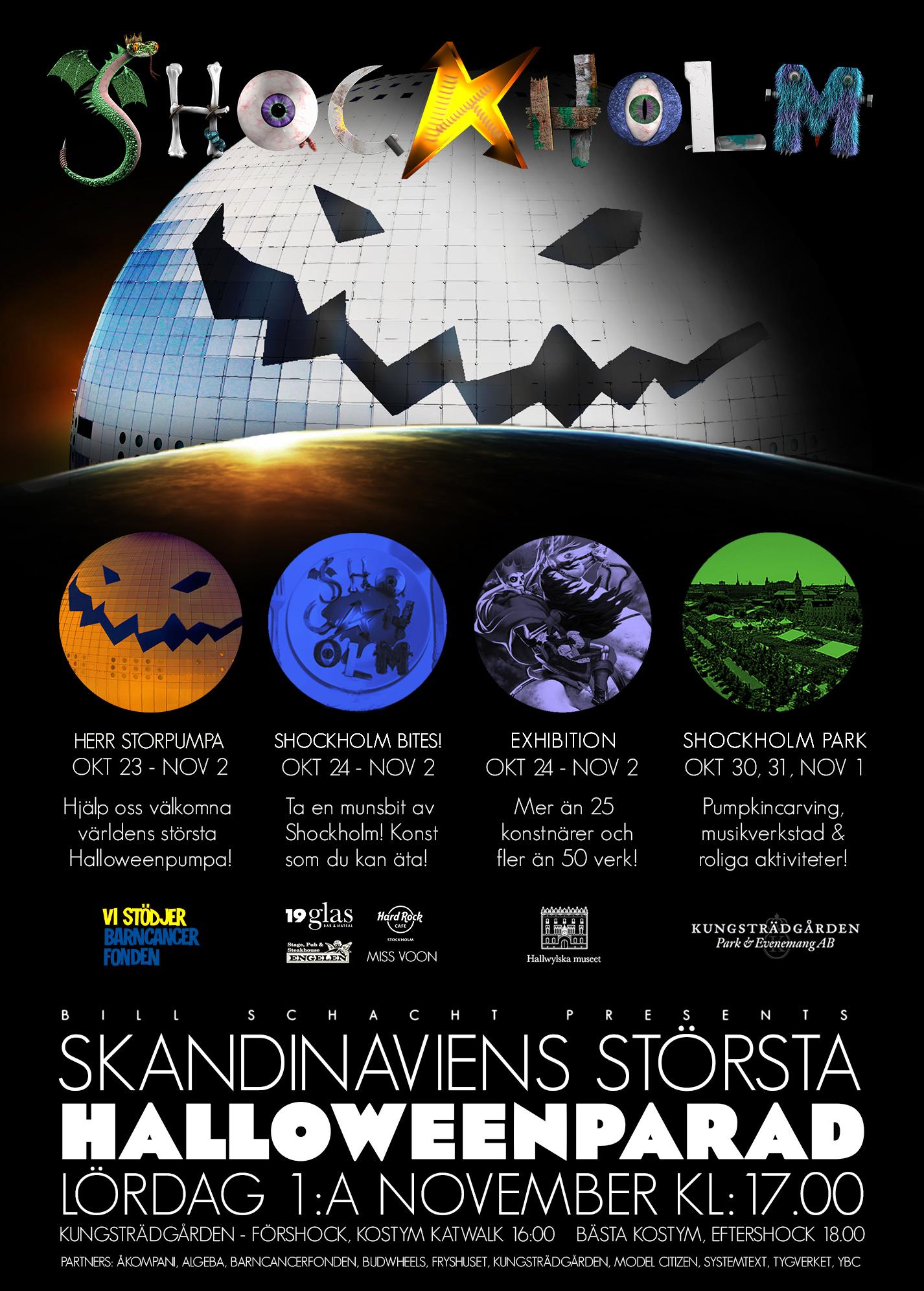2014 Shockholm Parade Poster