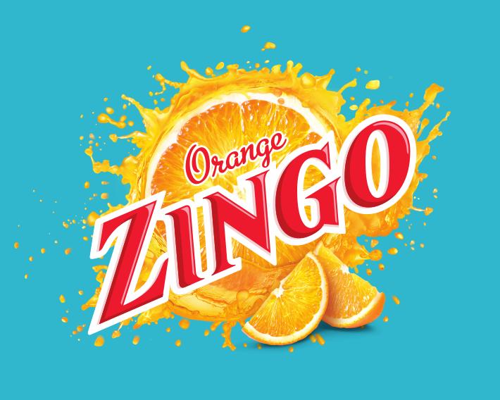 Zingo Gun Logo Blue