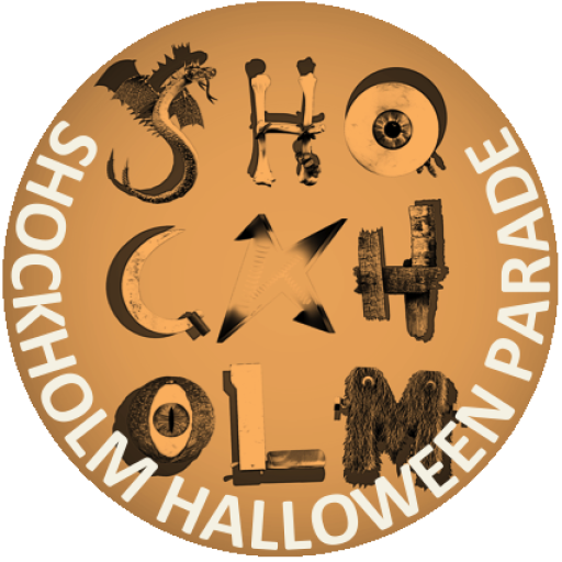 Stockholm Halloween Parade Button